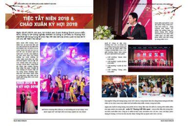 Tạp chí Nội bộ số 04: Cung Chúc Tân Xuân