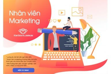 Tuyển dụng Vị trí Nhân viên Marketing