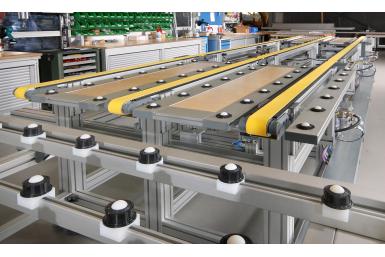 Ứng dụng nhôm định hình làm khung băng tải công nghiệp