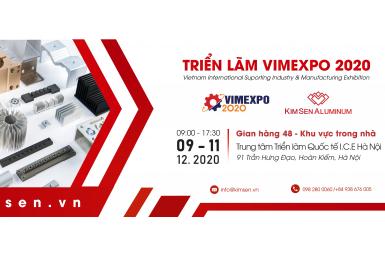 Thư mời tham quan Triển lãm Quốc tế về Công nghiệp hỗ trợ & Chế biến chế tạo Việt Nam VIMEXPO 2020