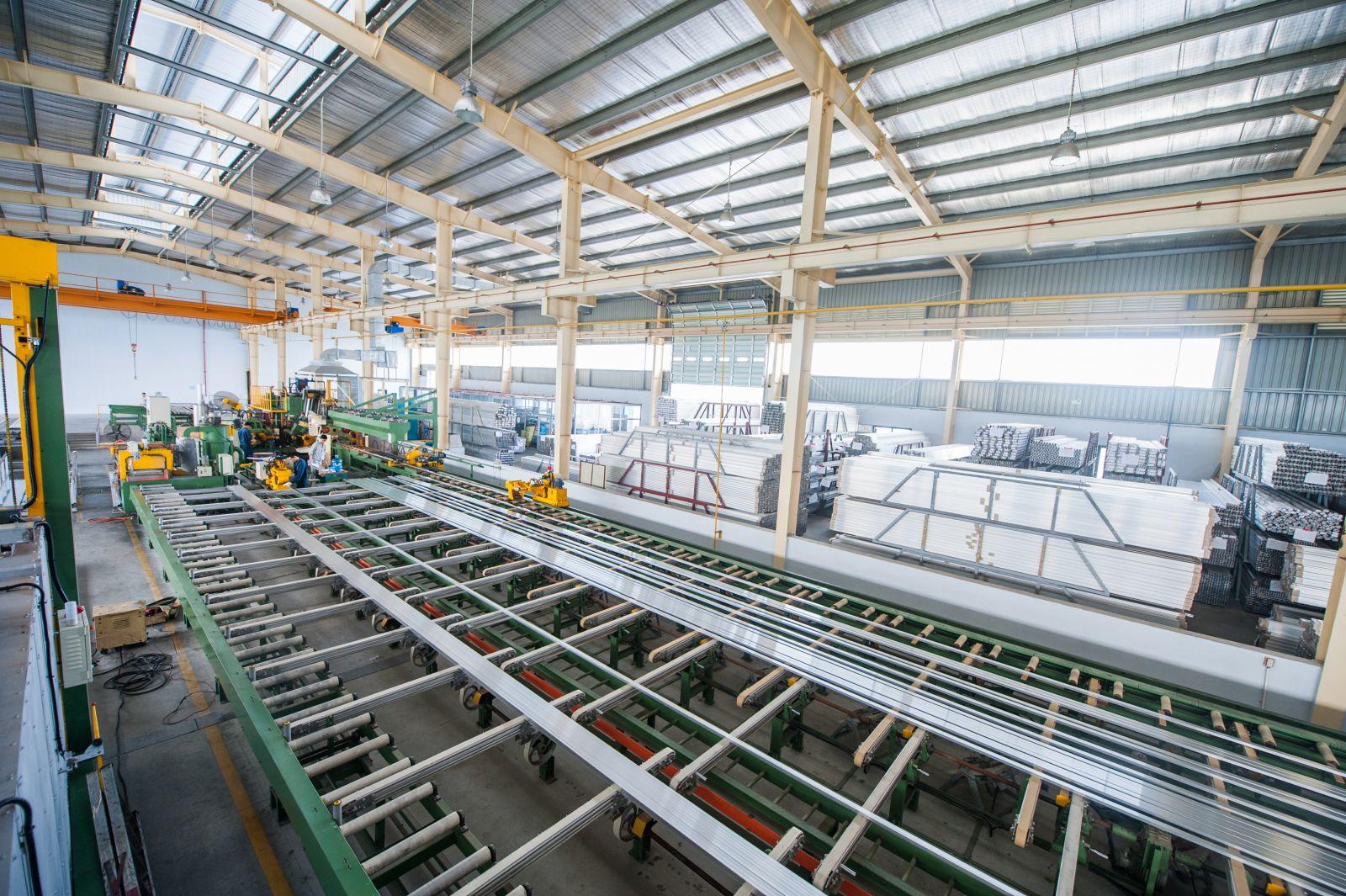 Nhà máy KIMSEN sở hữu công nghệ sản xuất mới, giúp sản xuất hiệu quả và bảo vệ môi trường